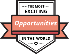 The most exciting opportunities in the world